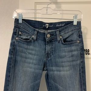 7 for all mankind. Sz 25. 32 inseam. Bootcut.
